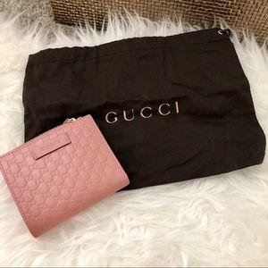 Gucci Microguccissima Wallet Pink Brand new